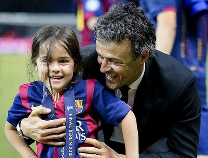 លទ្ធផលរូបភាពសម្រាប់ Kanker Tulang, Putri Luis Enrique Meninggal Dunia di Usia 9 Tahun