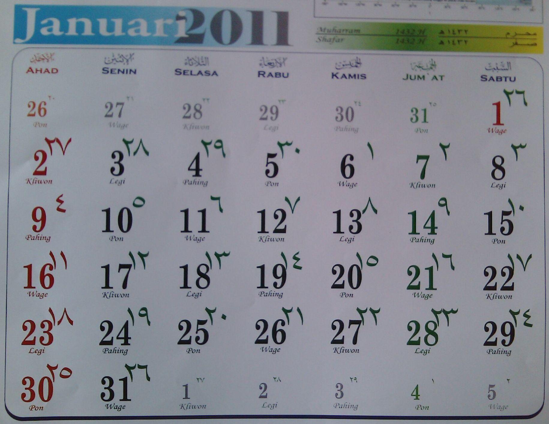 46+ Pembuatan kalender komariah adalah info