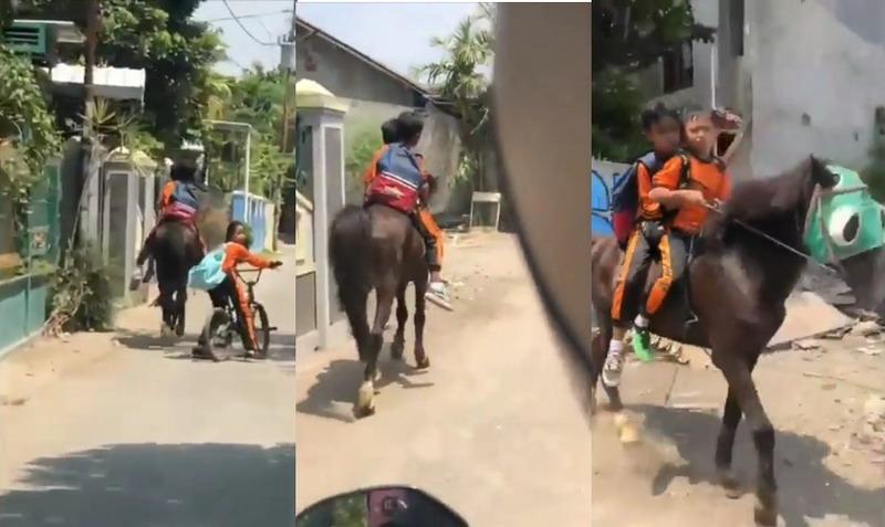 https: img.okezone.com content 2019 09 12 337 2103911 viral-anak-sekolah-naik-kuda-jadi-inspirasi-M85U9IJMwZ.jpg