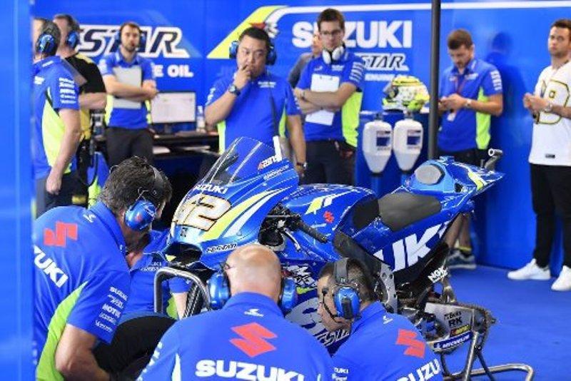Kesulitan di Sesi Kualifikasi, Suzuki Akan Lakukan Beberapa Perubahan Sebelum Balapan