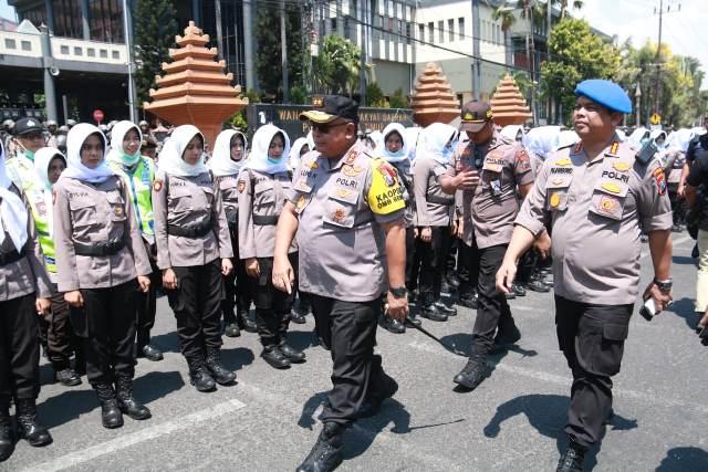 Amankan Demo Surabaya Menggugat Polda Jatim Kerahkan