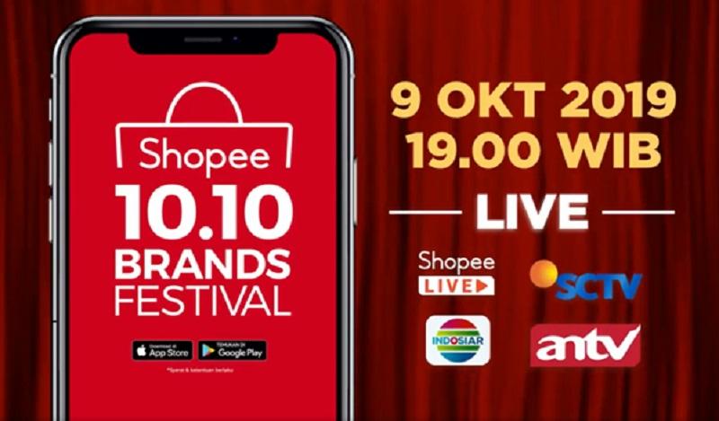 Bakal Jadi Panggung Reuni Mantan Jangan Lewatkan Kehebohan Tv Show Shopee 10 10 Brands Festival Okezone Celebrity