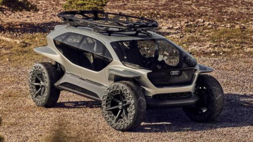 Off Road Design >> Konsep Kendaraan Off Road Otonom Dari Audi Pakai Drone