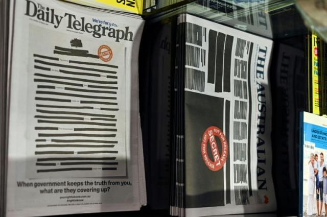 https: img.okezone.com content 2019 10 21 18 2119657 protes-pemerintah-sembunyikan-kebenaran-surat-kabar-australia-sensor-halaman-depan-DuVNnnuES6.jpg