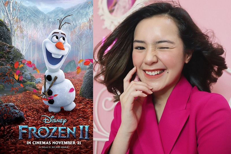 Cerita Beby Tsabina Isi Suara Olaf Dalam Frozen 2 Okezone Celebrity