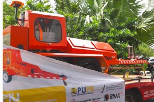 BIMA RI Ekspor Perdana Alat Pengukur Kekuatan Jalan ke Timor Leste : Okezone Economy
