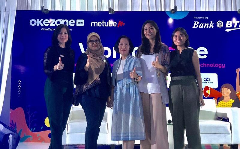 https: img.okezone.com content 2019 12 13 612 2141767 women-is-me-jadi-wadah-bagi-perempuan-indonesia-untuk-berbagi-ilmu-dan-berkarya-KuORgd116M.jpg