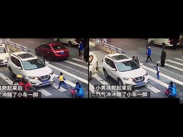 https: img.okezone.com content 2019 12 18 612 2143432 tendang-mobil-di-jalan-raya-bocah-laki-laki-di-china-ini-viral-bAiSaHqeoZ.jpg