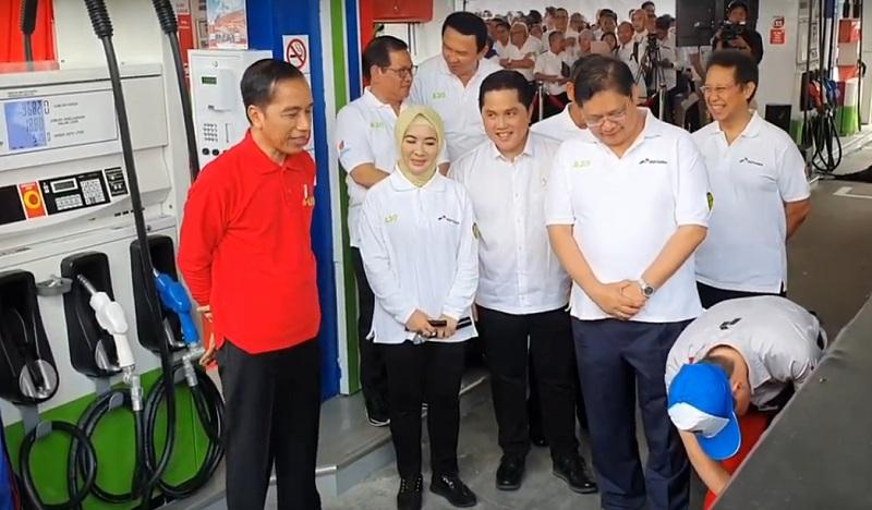 Lanjutkan Program B30 hingga B100, Menjaga Bumi Jadi Alasan Jokowi ...