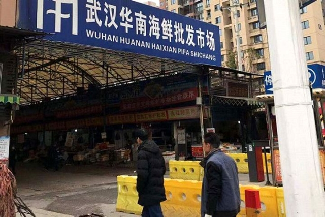 Pasar Di Wuhan Kota Pusat Virus Korona Jual Ular Tikus Hingga