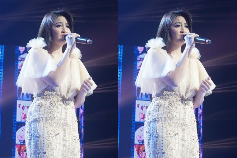 Mahalini Nyanyikan Lagu Andmesh di Indonesian Idol, Anang