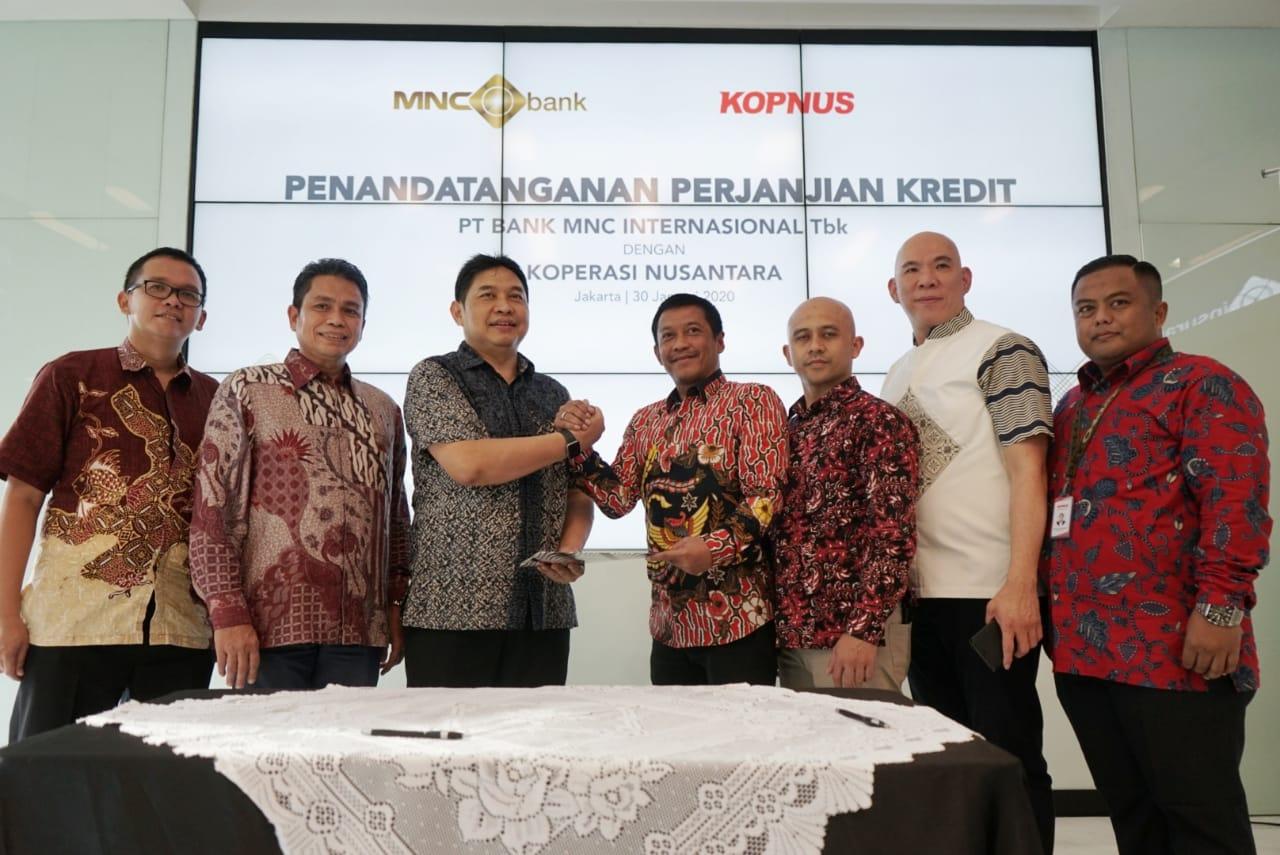 BABP MNC Bank Kucurkan Kredit Rp200 Miliar ke Koperasi Nusantara : Okezone Economy