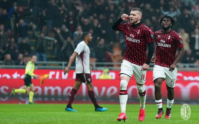 Hasil gambar untuk Milan vs Torino
