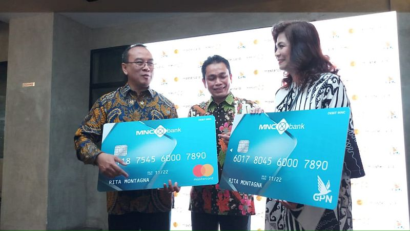 BABP Gandeng Mastercard dan GPN, MNC Bank Luncurkan Kartu Debit : Okezone Economy