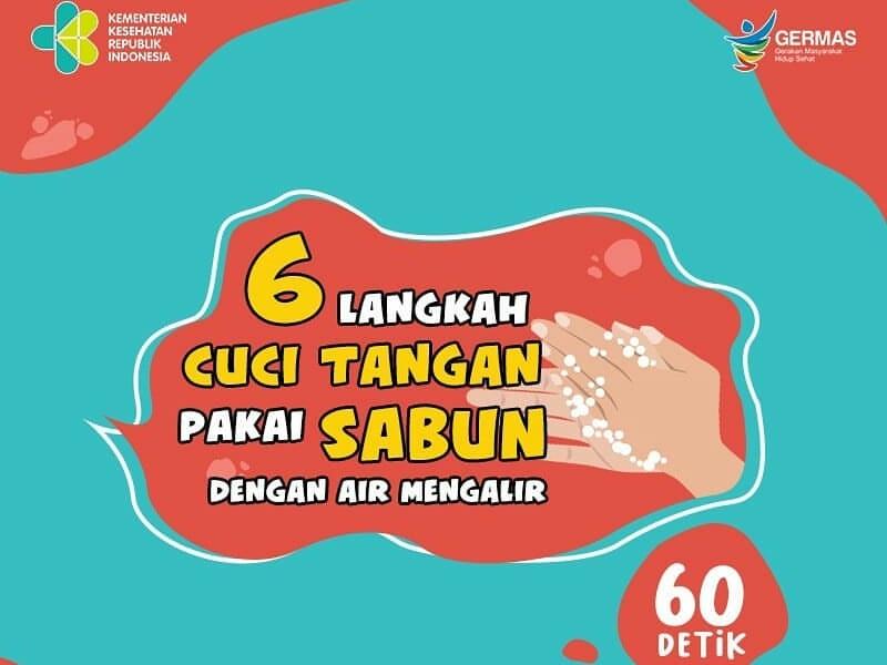 6 Langkah Cuci Tangan Pakai Sabun Untuk Cegah Covid 19 Okezone Lifestyle