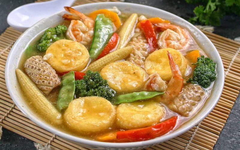 Resep Sapo Tahu Seafood Lezat Dan Penuh Gizi Yuk Masak Di Sela Wfh Okezone Lifestyle