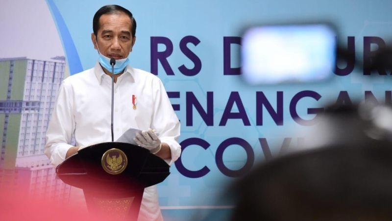 Virus Corona Jokowi Tambah Kartu Sembako Murah Jadi Rp200 000 Okezone Economy
