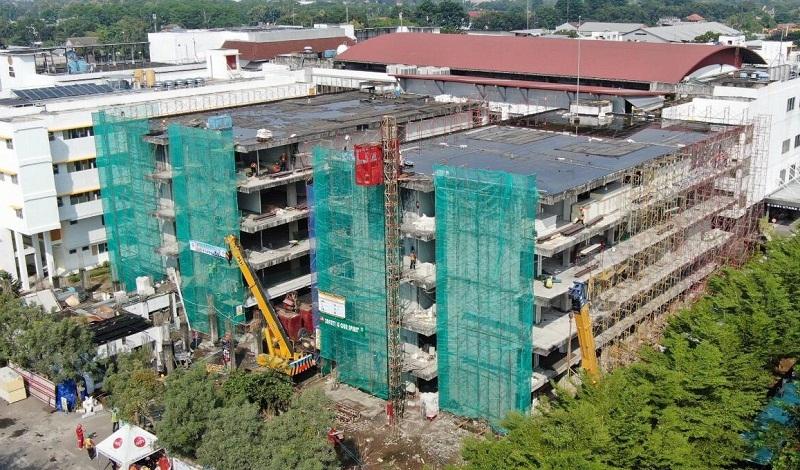 Progres Pembangunan Rs Akademi Ugm Untuk Covid 19 Sudah 30 Okezone Economy