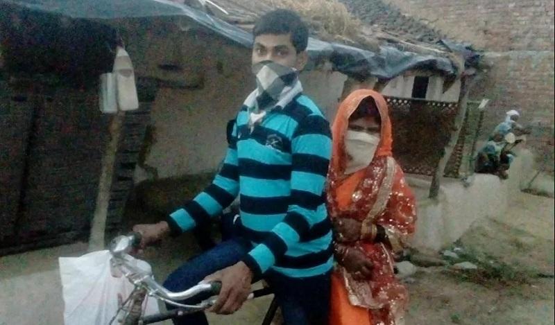 Pria India Kayuh Sepeda 100 Km Demi Bisa Menikah di Masa