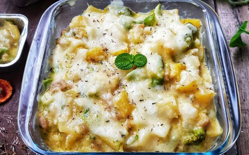 Yummy Resep Kentang Brokoli Panggang Tambah Keju Meleleh Di Mulut Okezone Lifestyle