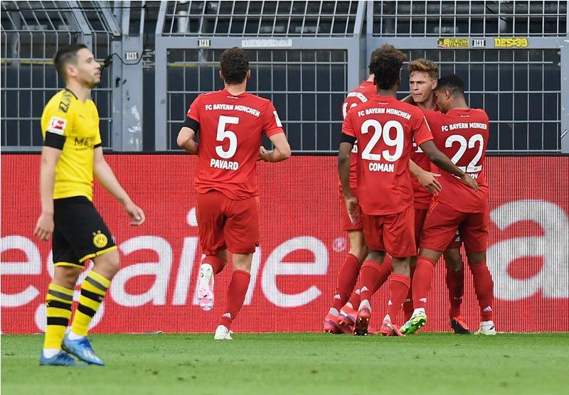 Dortmund Vs Bayern Berakhir 0 1 Kimmich Kami Sulit Dikejar Okezone Bola