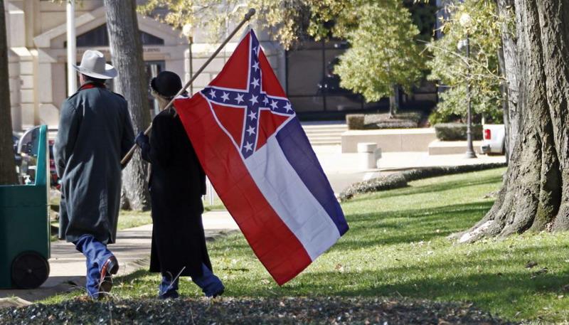 https: img.okezone.com content 2020 06 29 18 2238030 dianggap-miliki-simbol-rasisme-mississippi-akan-ubah-bendera-negara-bagiannya-SpPuneX3My.jpg