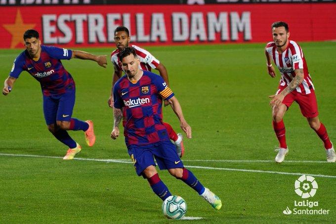 Berakhir 2 2 Gol Penalti Warnai Laga Barcelona Vs Atletico Madrid Okezone Bola