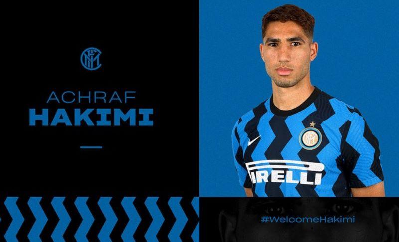 Achraf Hakimi Resmi Gabung Inter Milan : Okezone Bola