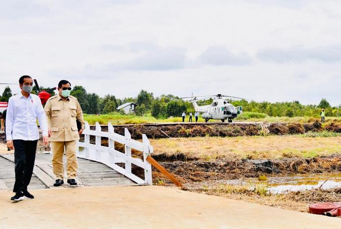 https: img.okezone.com content 2020 07 09 337 2243683 didampingi-prabowo-presiden-jokowi-tinjau-lokasi-lumbung-pangan-nasional-di-kapuas-ukMhXri8gk.jpg