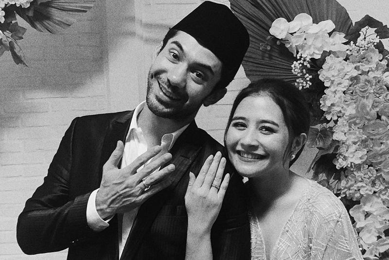 'Menikah' dengan Reza Rahadian, Prilly Latuconsina Viral ...