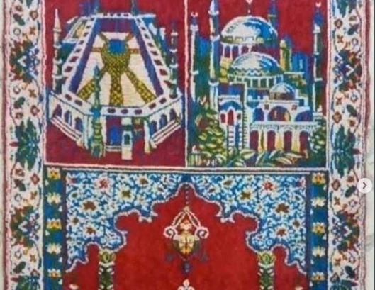 https: img.okezone.com content 2020 07 22 614 2250254 viral-foto-sajadah-jadul-ternyata-gambarnya-masjidil-haram-dan-hagia-sophia-MLQb5SMvRg.JPG