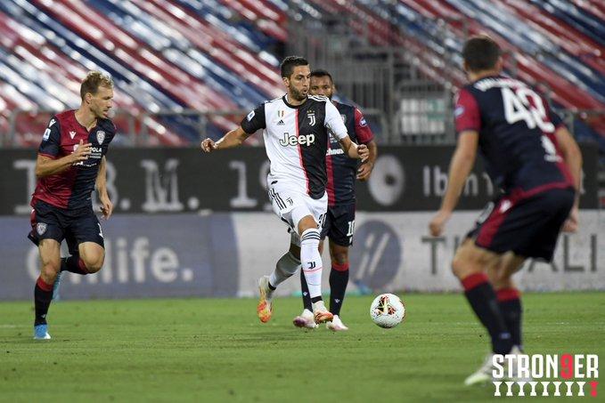Cagliari Vs Juventus Bianconeri Tertinggal 0 2 Di Babak Pertama Okezone Bola