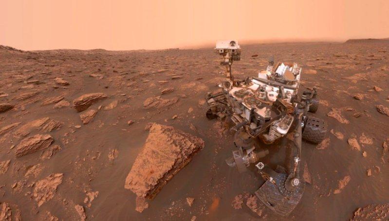 NASA Curiosity Melakukan Perjalanan 14 Mil di Mars