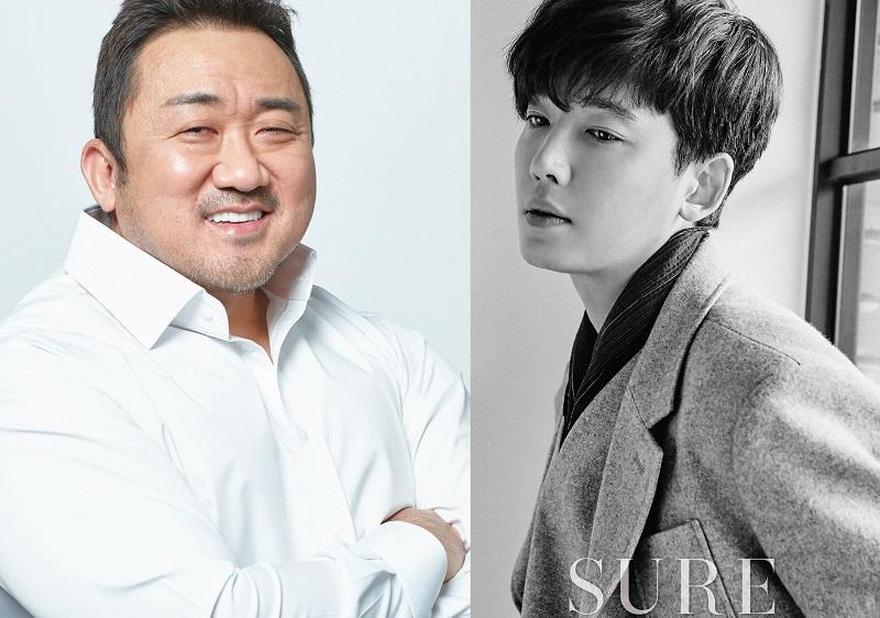 https: img.okezone.com content 2020 08 12 206 2261301 ma-dong-seok-dan-jung-kyung-ho-adu-akting-dalam-apgujeong-report-rSEjKCFXhq.jpg