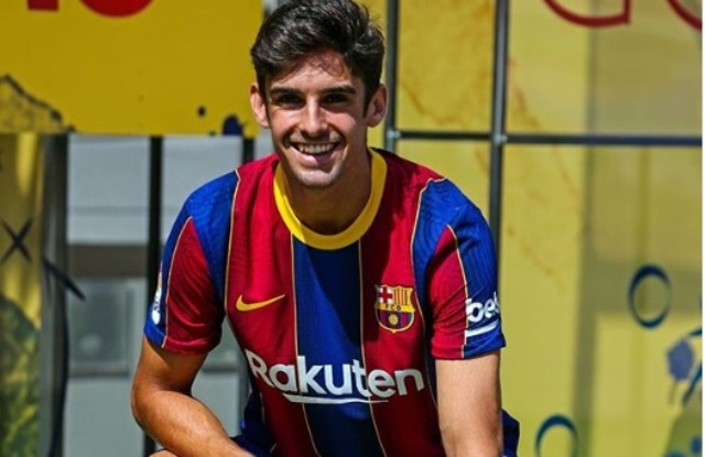 Barcelona Resmi Perkenalkan Francisco Trincao : Okezone Bola