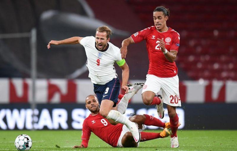 Tak Ada Pemenang di Pertandingan Denmark vs Inggris : Okezone Bola
