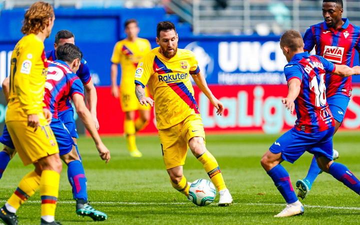 Menanti Kombinasi Messi, Depay, Griezmann dan Ansu Fati di Lini Depan Barcelona