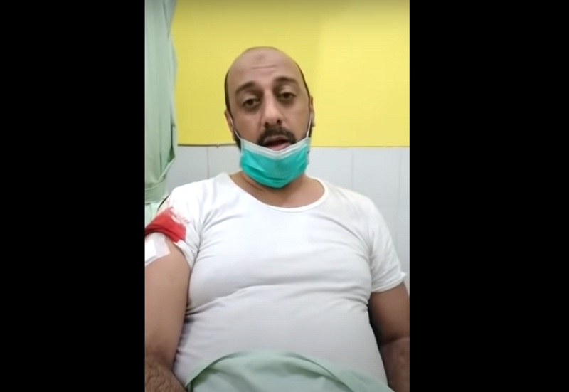 Syekh Ali Jaber Ditusuk Orang Tak Dikenal saat Dakwah di Lampung : Okezone News