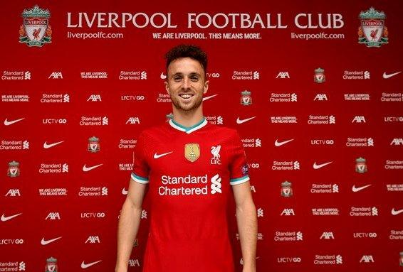 Liverpool Resmi Umumkan Kedatangan Diogo Jota dari