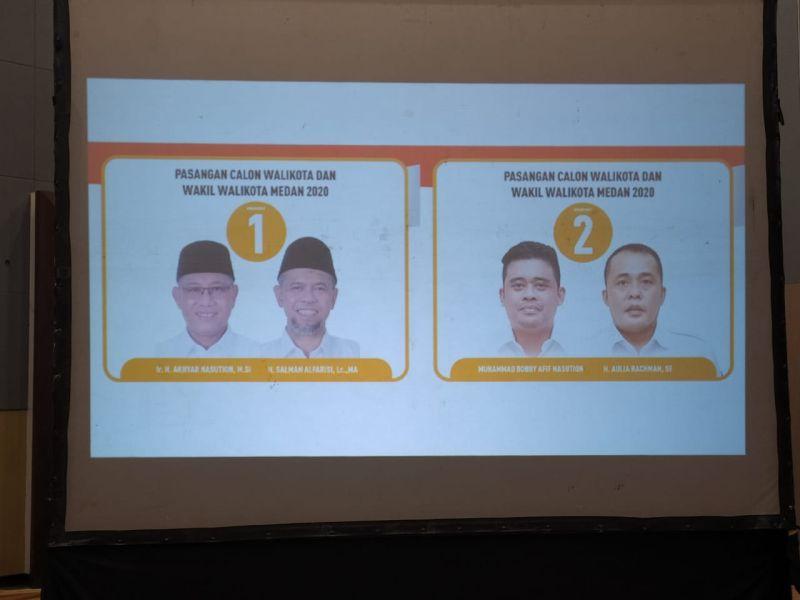 Pilkada Medan 2020 Akhyar Salman Nomor 1 Bobby Nasution Aulia Nomor 2 Okezone Nasional