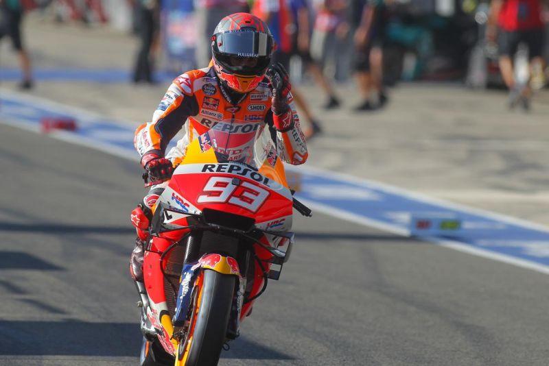 Honda Terpuruk di MotoGP 2020, Marc Marquez: Kami Akan <i>Comeback</i>