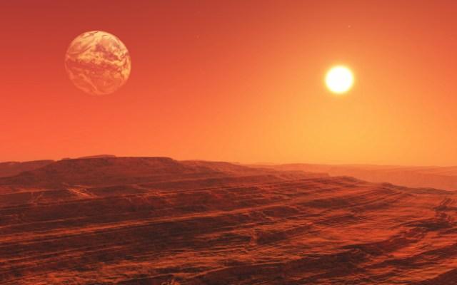 Danau yang ditemukan di Mars mengandung air asin: