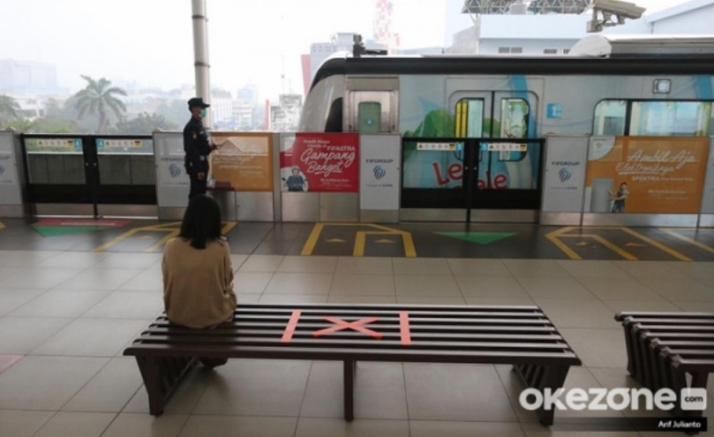 Psbb Jakarta Diperketat Penumpang Mrt Turun Hampir 4 Ribu Orang Okezone Economy