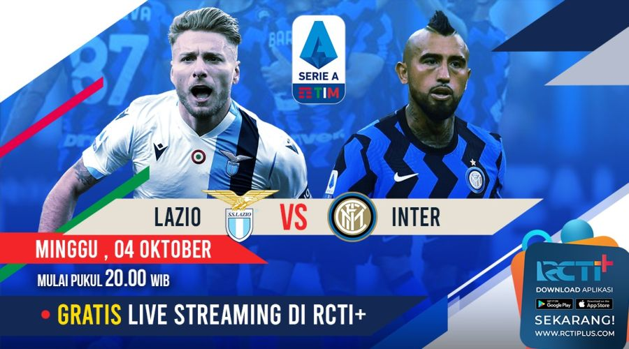 Live Streaming Lazio Vs Inter Milan Bisa Disaksikan Di Rcti Okezone Bola