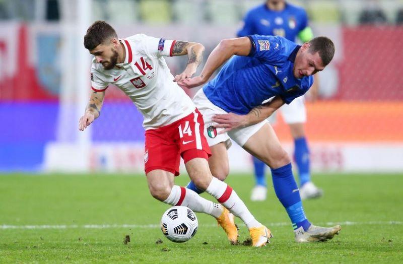 Polandia vs Italia Berakhir Tanpa Pemenang : Okezone Bola