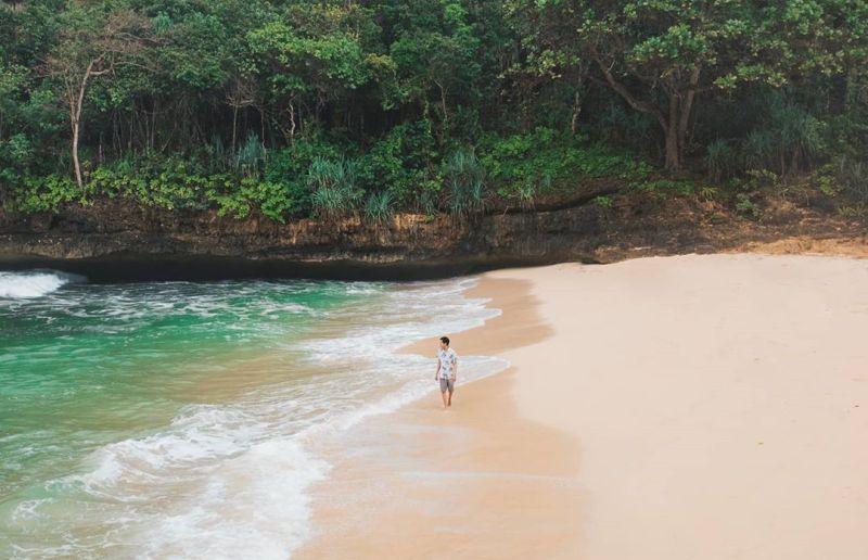 https: img.okezone.com content 2020 10 13 408 2292769 indahnya-pantai-ngledakan-ciut-tersembunyi-di-balik-hutan-malang-Y5A8DeeTud.jpg