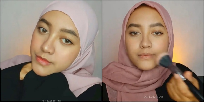 https: img.okezone.com content 2020 10 14 611 2293562 tips-agar-makeup-tak-pecah-ala-beauty-vlogger-karina-mahar-IVPYurqkEZ.jpg