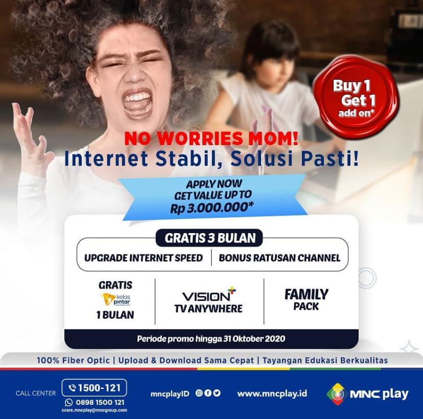 IPTV Segera Langganan MNC Vision & MNC Play, Raih Promo Gratis Ratusan Channel dan Internet 3 Bulan : Okezone Economy