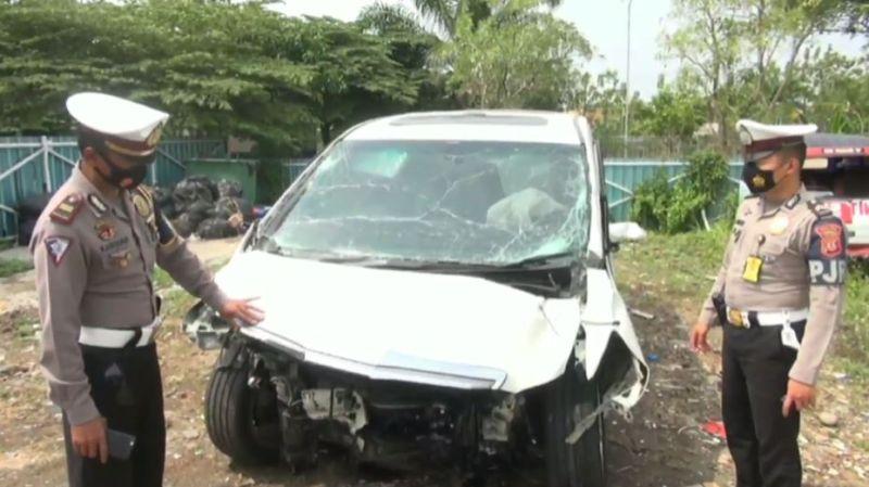 Mobil Hanafi Rais Terlibat Tabrakan Beruntun di Tol Cipali, Begini Kronologinya