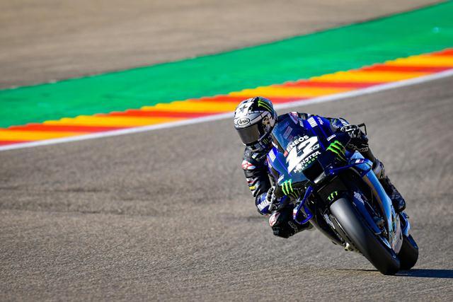 Hasil FP4 MotoGP Teruel 2020, Maverick Vinales Jad